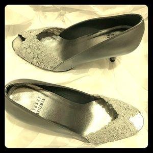 Lace Stuart Weitzman Wedding heels